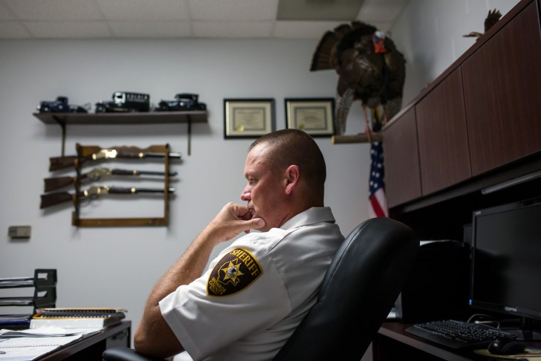 Image: Monroe County Sheriff Neal Rohlfing has said his department will not enforce anti-gun laws