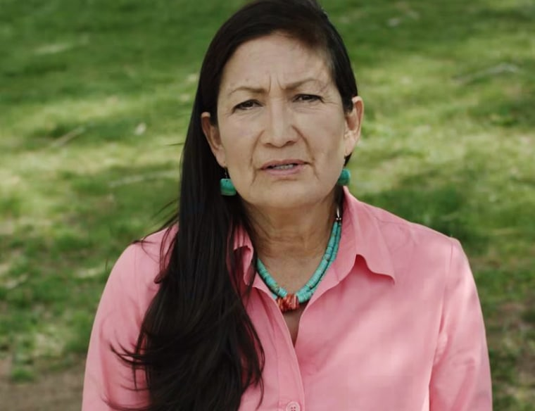 Deb Haaland, a Democrat, is running to represent New Mexico's 1st Congressional District.