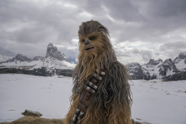 Image: Chewbacca in SOLO: A STAR WARS STORY