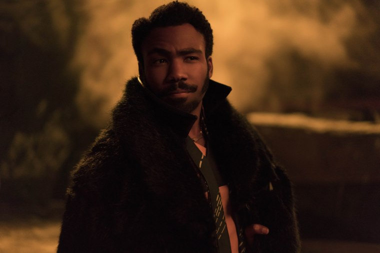 Image: Donald Glover in SOLO: A STAR WARS STORY