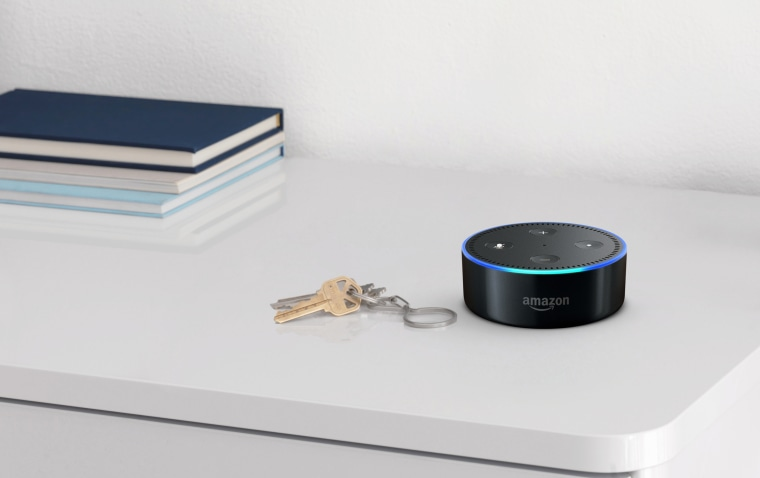 Image: Amazon's Alexa enabled Echo Dot.