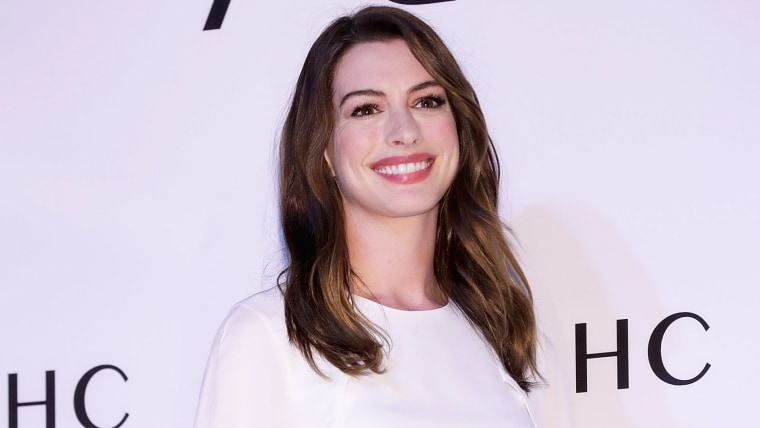 "AHC ""Sharing The Joy of Beauty with Anne Hathaway"" - Photocall"