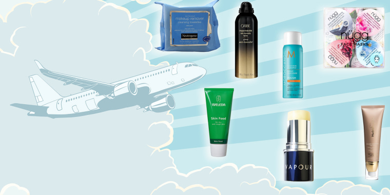 TSA-approved beauty/hair for travel.