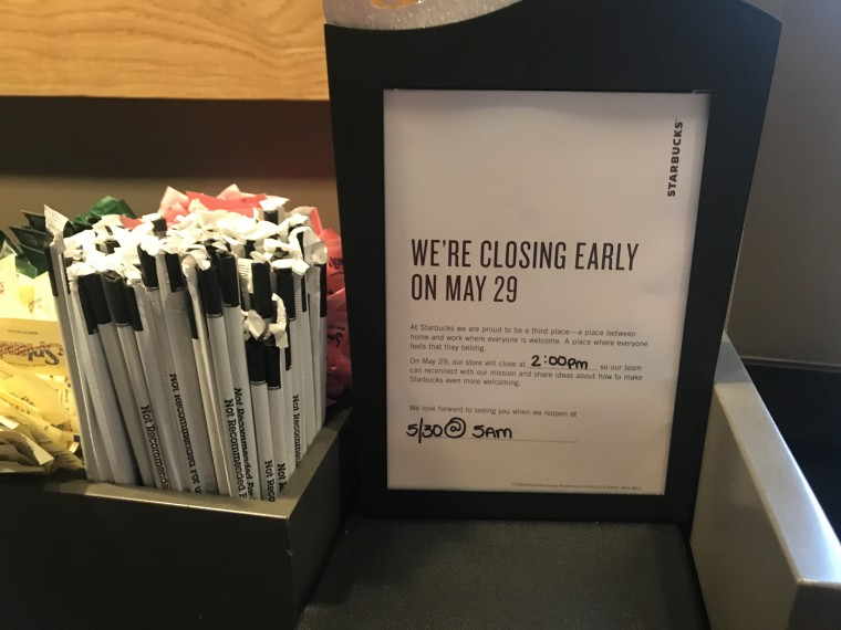 Starbucks closing stores early May 29