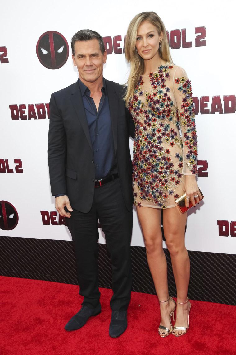 "Josh Brolin and wife Kathryn at ""Deadpool 2"" screening"