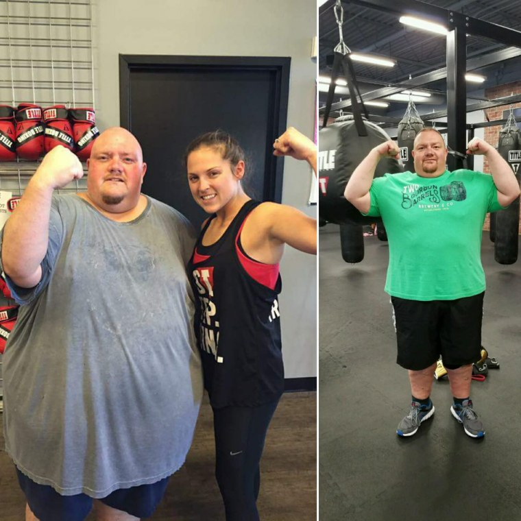 At almost 600 pounds, Mike Powers' health was failing. In only 15 months he has shed 250 pounds.