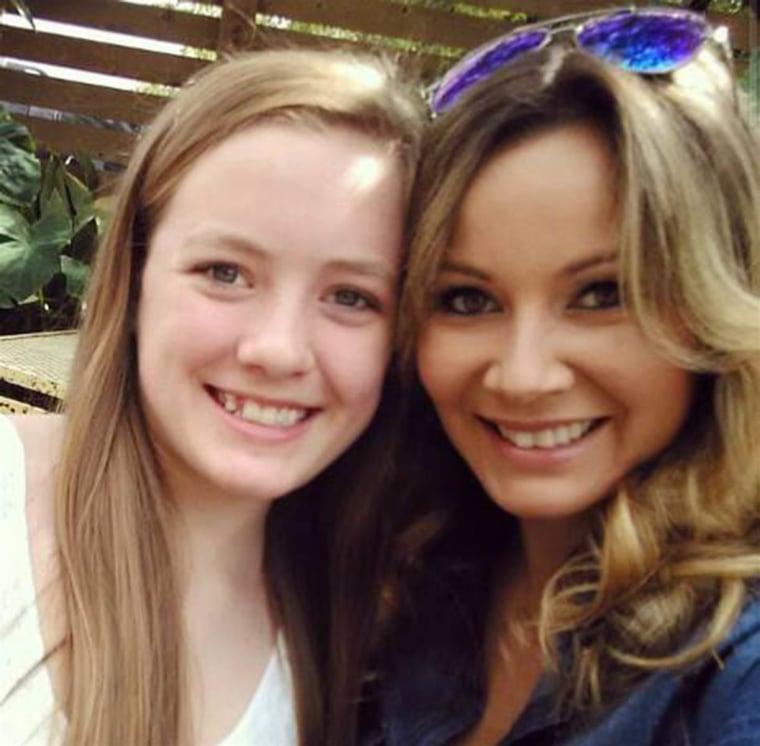 Stepmom and stepdaughter