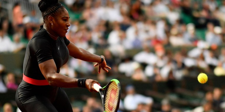 Serena Williams served some serious inspiration.