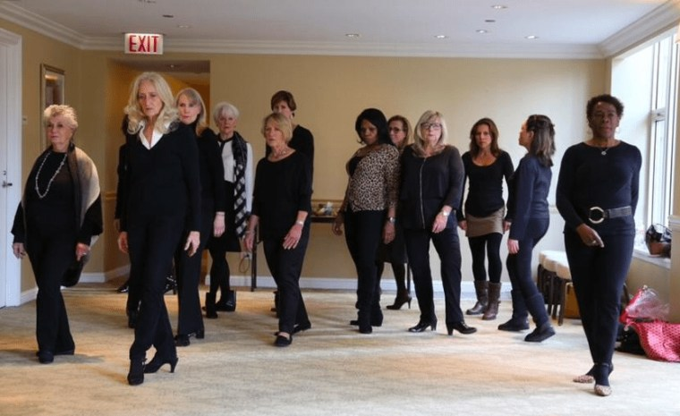 Fashion Over Fifty founder Wendy Packer, runway classes