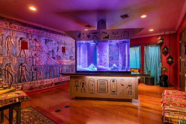 Shaquille O'Neal house for sale: aquarium