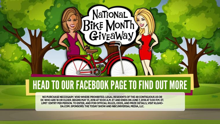 Kathie Lee and Hoda bike giveaway