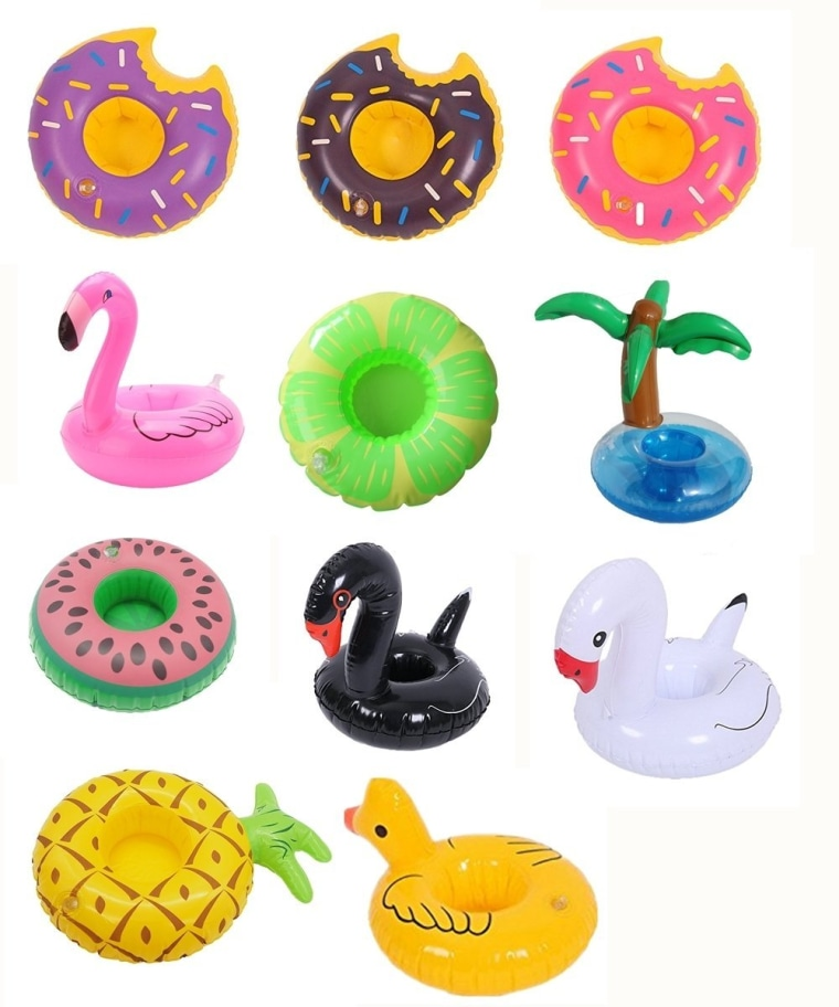 12 Pack Inflatable Drink Holders