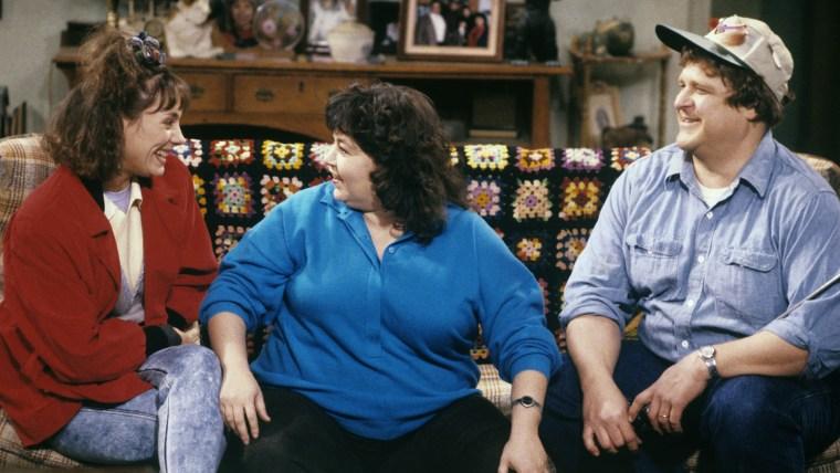 Laurie Metcalf, Roseanne Barr, John Goodman