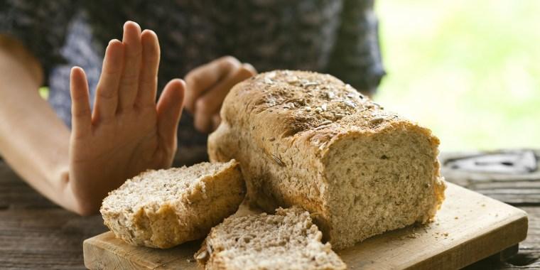 No bread, thanks: gluten-free concept