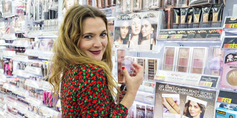 Drew Barrymore Visits Local Walmart To Showcase Favorite FLOWER Products