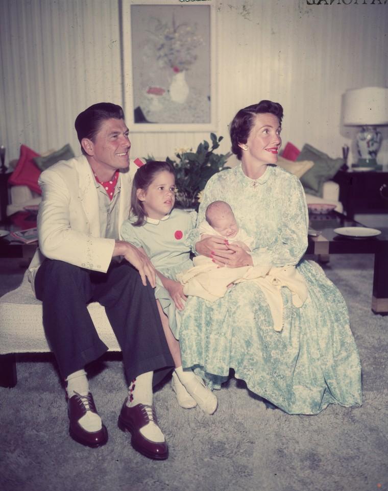 Reagan And family