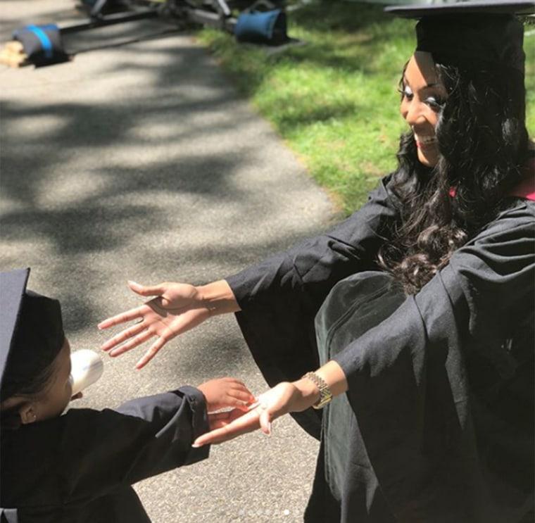 Single mom Briana Williams graduates from Harvard law school