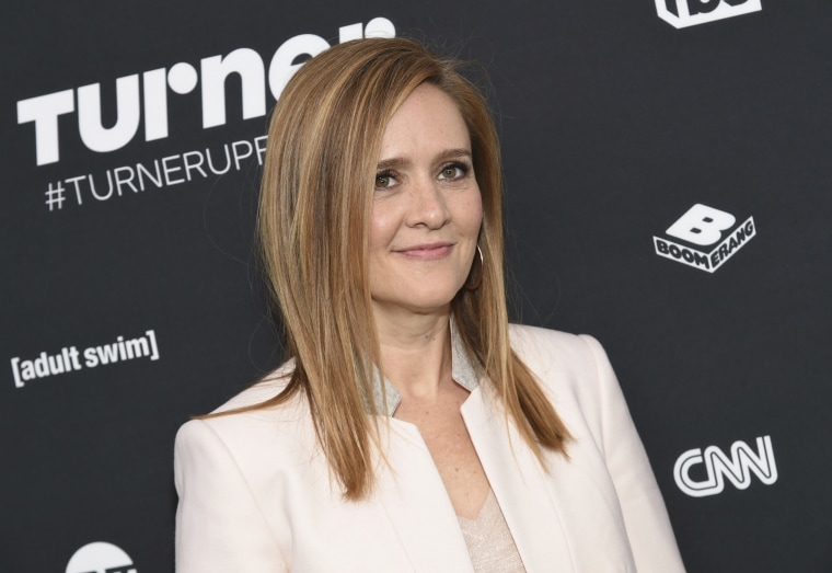 Image: Samantha Bee attends the Turner Network 2016 Upfronts on May 18, 2016, in New York.