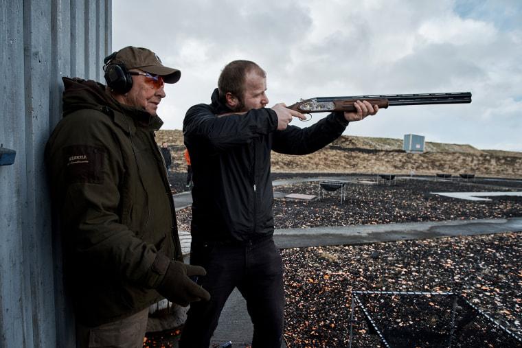 Image: Iceland Gun Tests