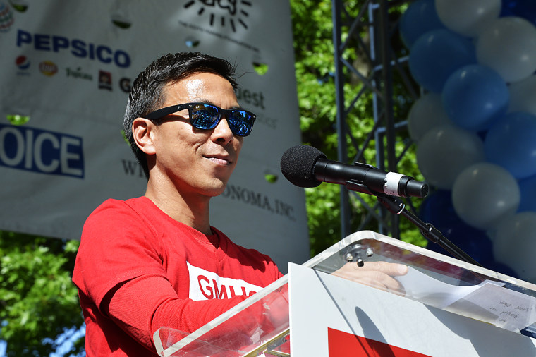GMHC 2017 Aids Walk in Central Park, New York City.