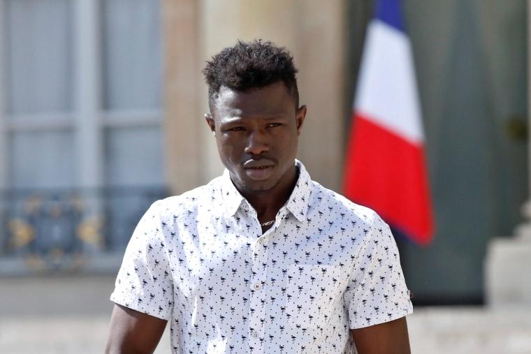 Image: Mamoudou Gassama