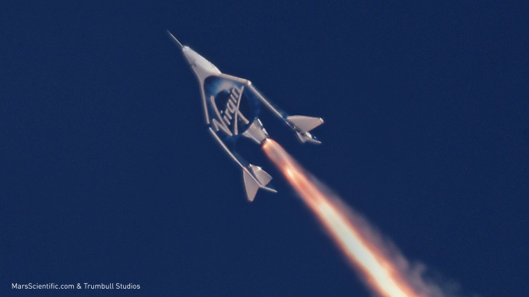 Image: Virgin Galactic second supersonic flight