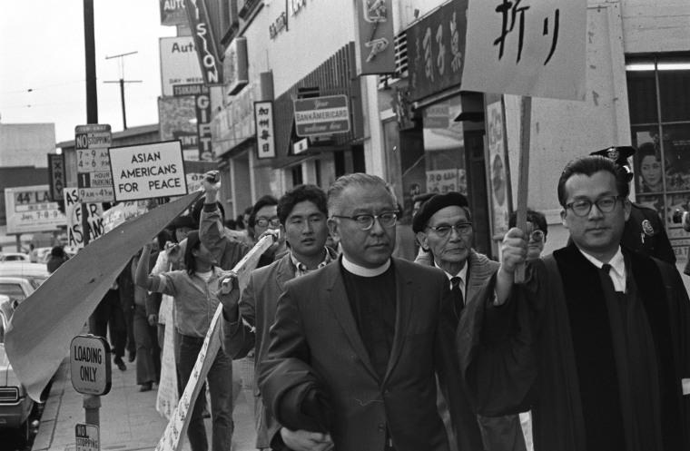 Image: Vietnam War demonstrators