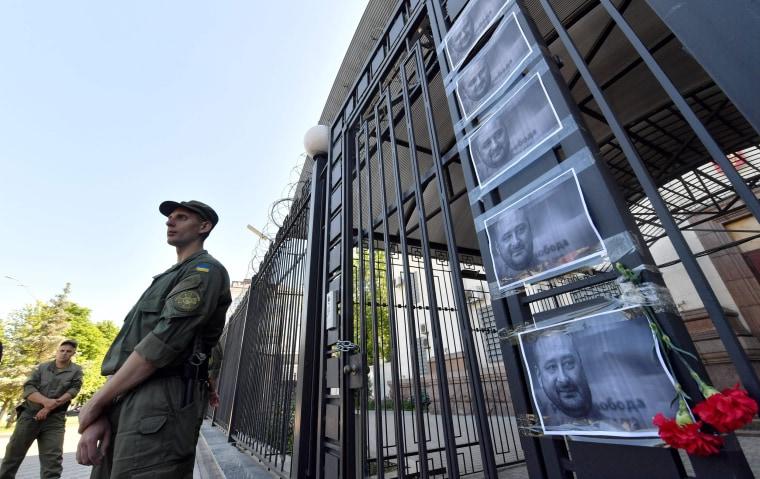 Image: Russian Embassy in Kiev
