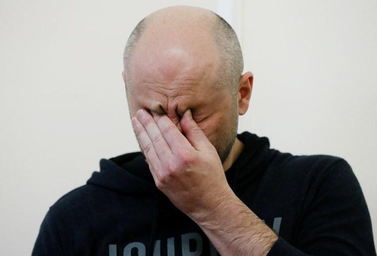 Image: Russian journalist Arkady Babchenko