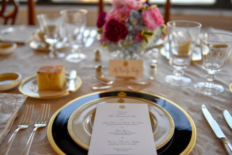 Image: Pompeo Dinner