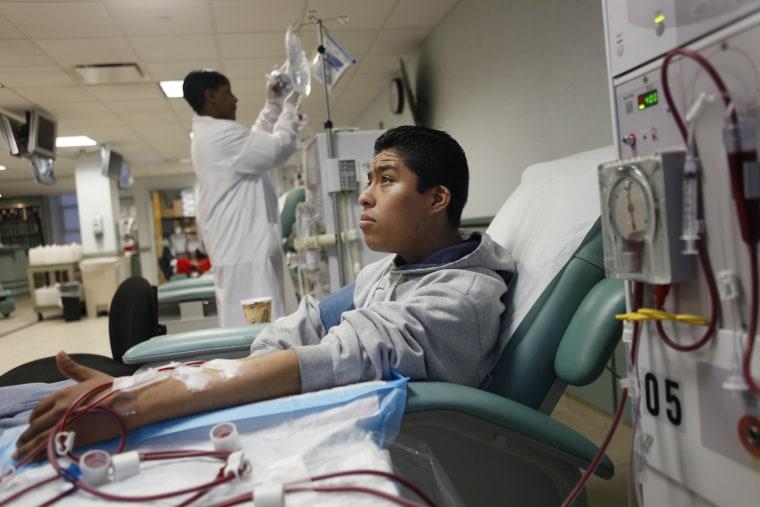 Image: Immigrant health care