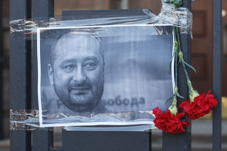 Image: Russian journalist Arkady Babchenko killed in Kiev