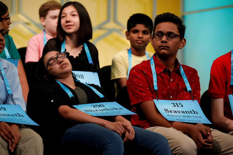 Image: Scripps National Spelling Bee at National Harbor in Maryland