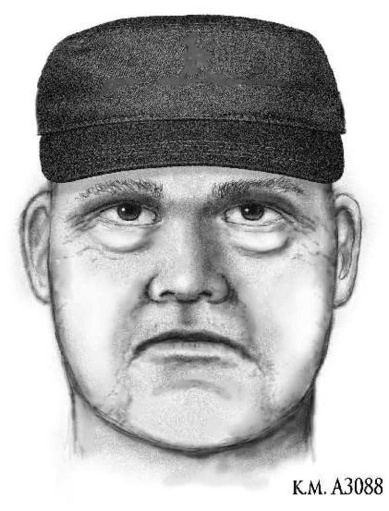 Image: Sketch of suspect that killed Steven Pitt.