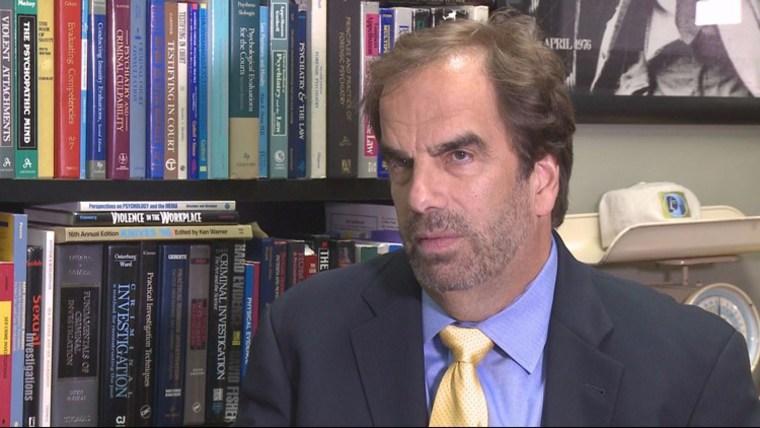 Image: Prominent forensic psychiatrist Steven Pitt.