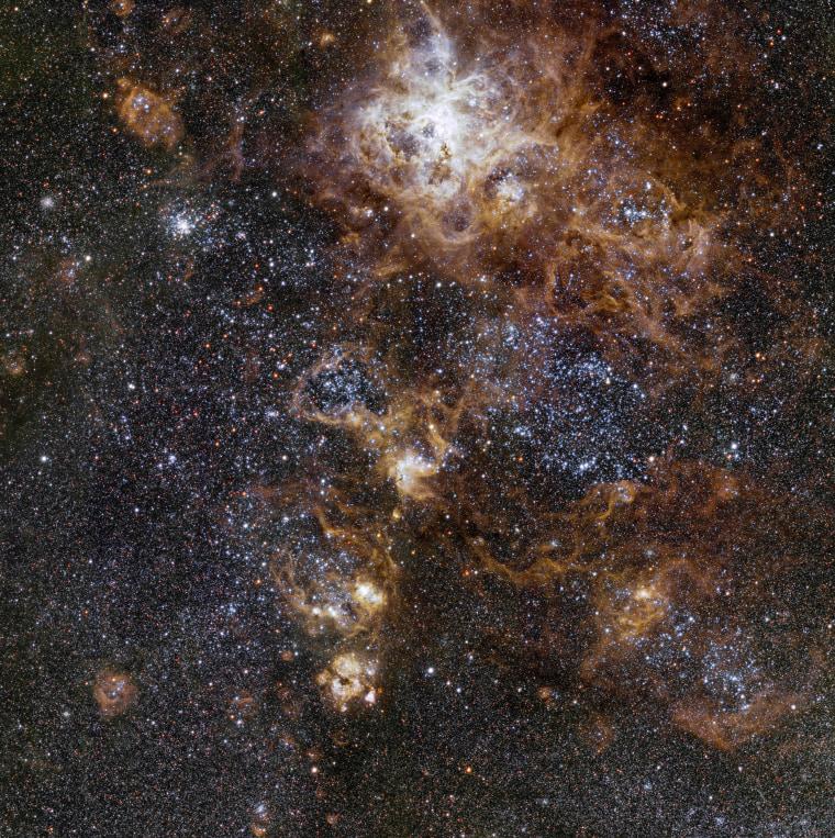 Image: SPACE-TARANTULA-NEBULA-LARGE-MAGELLANIC