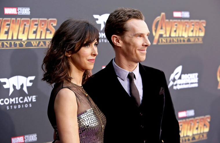 Image: Director Sophie Hunter and actor Benedict Cumberbatch