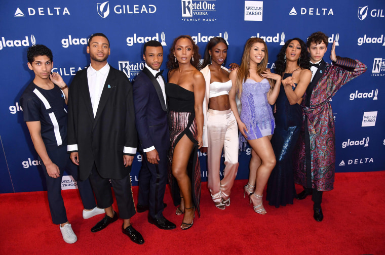 Image: Cast of FX's 'Pose' attend the 29th Annual GLAAD Media Awards