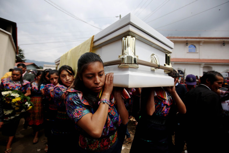 Image: Funeral of Guatemalan killed by US Border Patrol