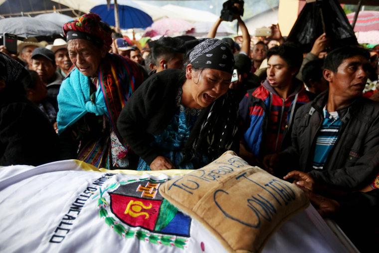 Image: Funeral of Guatemalan killed by US Border Patrol