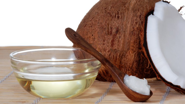 Coconut oil for hair, skin and face