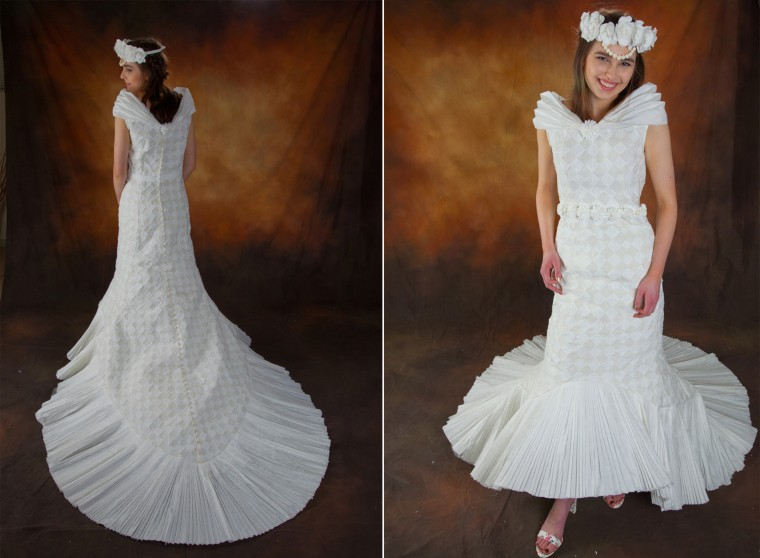 Meet the 10 finalists for this year\'s toilet paper wedding dress contest