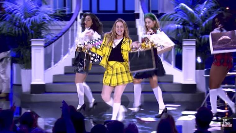 "Alicia Silverstone performs on ""Lip Sync Battle"""