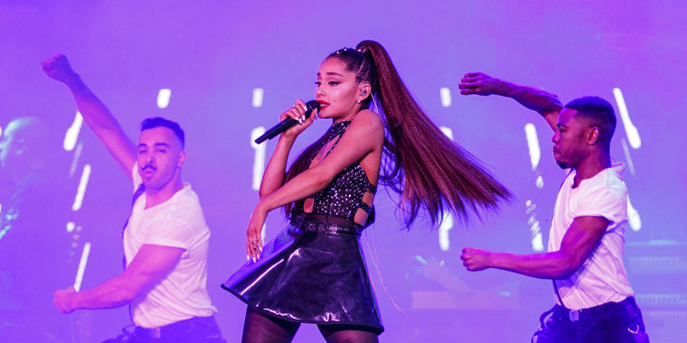 Ariana Grande at 2018 iHeartRadio Wango Tango By AT&T