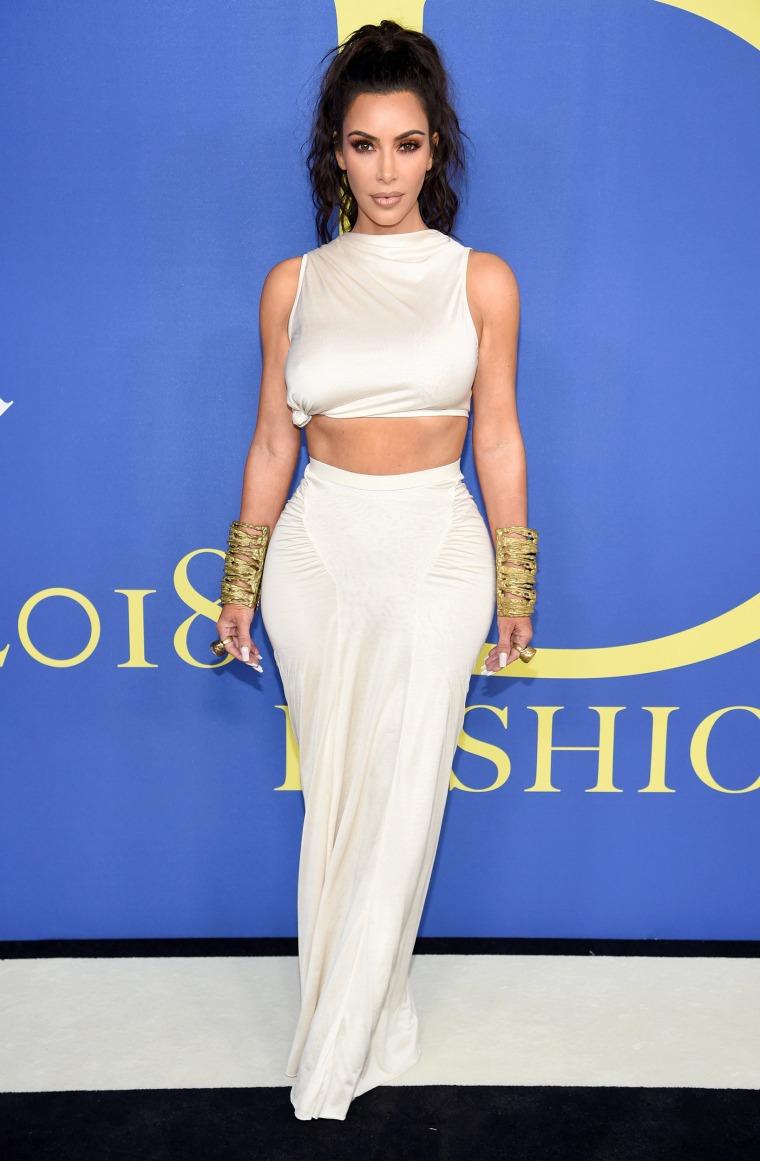 Kim Kardashian West CFDA