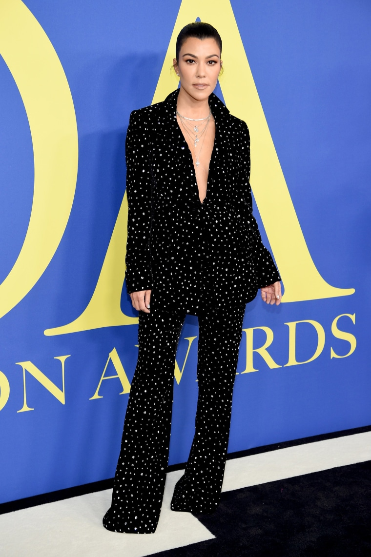 Kourtney Kardashian CFDA