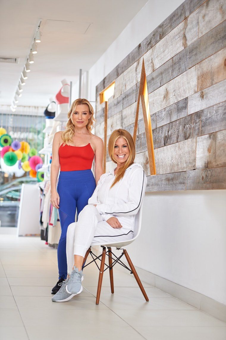 c7f98af51a Jill Martin and Tracy Anderson just launched a new athletic apparel line  for QVC