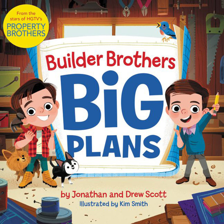 39 Property Brothers 39 Drew And Jonathan Scott Writing Kids 39 Book