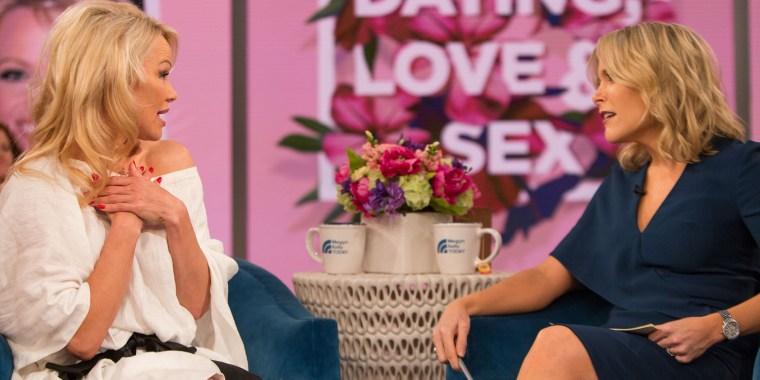 Pamela Anderson on Megyn Kelly TODAY