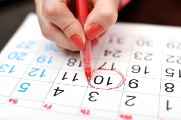 Tailor calendar